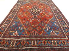 """MeyMey - 208 x 131 cm - """"Persian vintage carpet in beautiful condition"""". - Please note! No reserve price: starts at €1,-"""