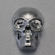 United States - YPS Yeagers Poured Silver - 1 oz. each 31.1 grams 999 silver - silver bullion skull - hand cast.