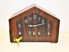Amsterdam school clock – 1920s