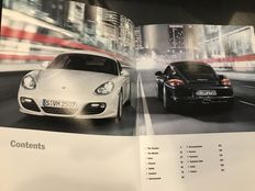 Porsche Official Cayman Presentation Book