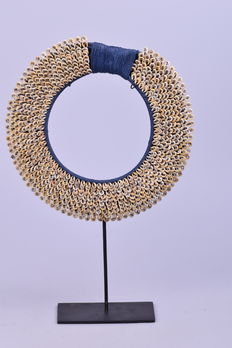 Necklace on stand - Papua New Guinea