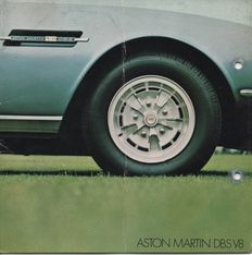 Brochures Aston Martin - 17 items Aston Martin (1975 - 2007)