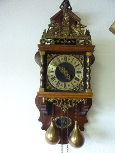 Large Zaandam chair clock - 1960.