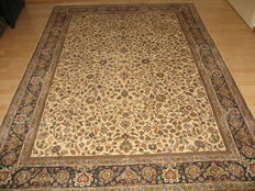 Stunning carpet Indo Kashan - 20th century, approx. 1980 - 280x185 - No reserve price, starts at €1.-