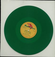 Lot of three high qualified vinyl records by The Itals including 'Give me power', 'Brutal out deh'  and 'I deh', a dub maxi single pressed on green vinyl !