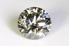 Diamond - 0.50 ct - Fancy Gray