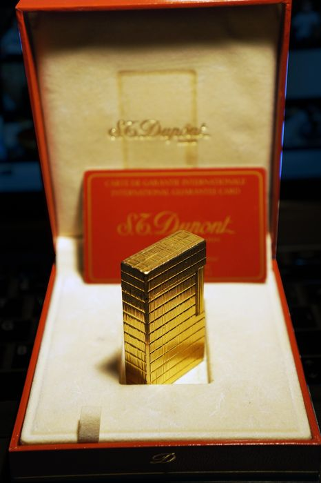 Golden Dupont Lighter