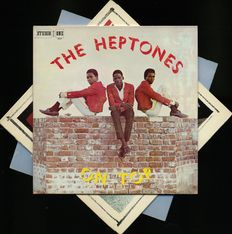"The Heptones (blue beat, rocksteady, ska) lot of three albums including ""The Heptones on top"""