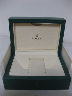 Rolex - Green box with wave design and beige sleeve - Model 39139.64