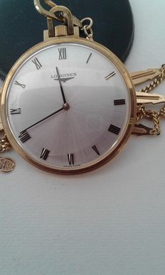 Longines pocket watch, 1960 circa