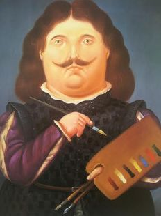 Fernando Botero - Five colourful posters after the originals