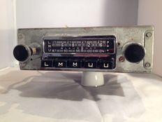 Blaupunkt Frankfurt classic car radio from 1964/1965  Porsche 911 /912 and 356.