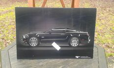 Ford Mustang 5.0 - print op acrylic - 50 x 70 cm