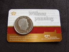 "The Netherlands - Penny 2013 ""Willemspenning"" in coincard"