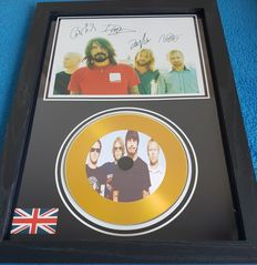 Foo Fighters - Framed Record