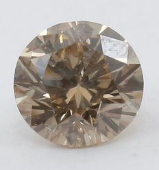 IGI Fancy bruine diamanten - 0,17 ct