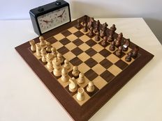 German competition chess set