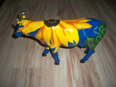 Jodi Mendlinger voor Cowparade / Cow Parade - Udderly Sunflowers - LARGE - Retired
