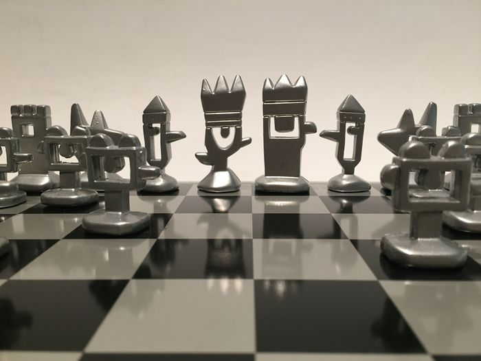 Mariscal Steel chess set, end of the 20th century