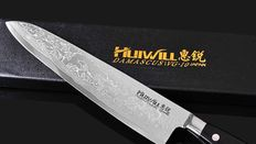 "Huiwill 9"" Japanese Takeful 67 layers VG10 Damascus stainless stel kitchen chef knife/Japanese Professional Chef knif"