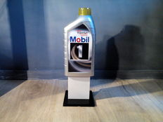 Mobil 1 - store counter/advertising display plastic - 35 x 12 cm
