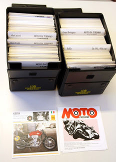 """Moto Passione"" - over 1,000 cards of vintage bikes between 1885 and 1992"