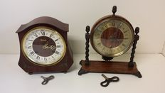 Two beautiful mantel clocks