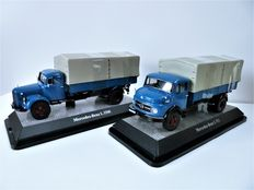 Premium Classi XXs - Scale 1:43 - Lot with 2 models: Mercedes-Benz L3500 and Mercedes-Benz L911,PP-LkW