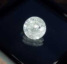 1.30 Carat Round Brilliant Diamond - G Color Clarity SI2 ( Free Shipping )