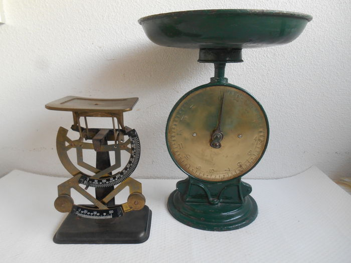 Mail scales and goods scales - England - approx. 1920