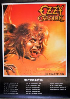 Ozzy Ozbourne: shot in the dark / ultimate sin 1986 - Motörhead: This album is Ozone Hostile 1991 - AC/DC: The Razors Edge 1990