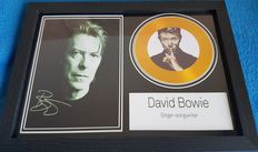 David Bowie - Framed Record