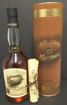 Old Pulteney 1982 15 years old - Single Cask - Millennium Edition