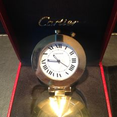 Cartier travel alarm clock - 20th century
