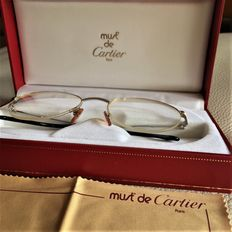 Unisex Must de Cartier Glasses - 1996 - 18 kt Gold Plated - Serial no.: 1733242