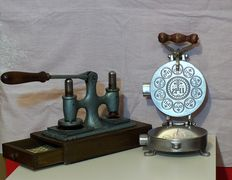 Ancient sacred communion hosts and wafers machine, first half of the 20th century