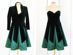 Covers - Evening dress with bolero - Vintage
