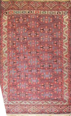 Antique Yomut rug from Turkmenistan, 1890