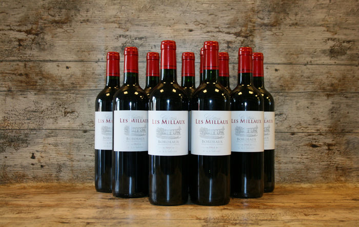 2011 chateau les millaux bordeaux 12 bottles catawiki. Black Bedroom Furniture Sets. Home Design Ideas