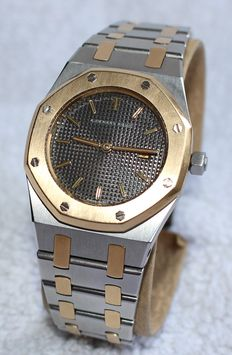 Audemars Piguet Royal Oak 18k gold and stainless steel 30mm  - ladies watch - 2000's year