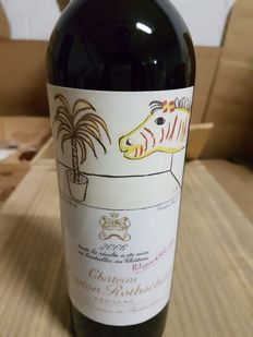 2006 Chateau Mouton Rothschild, first Grand Cru class Pauillac - 1 bottle (75 cl)
