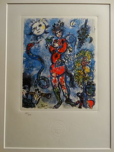 Marc Chagall (after)  - Untitled