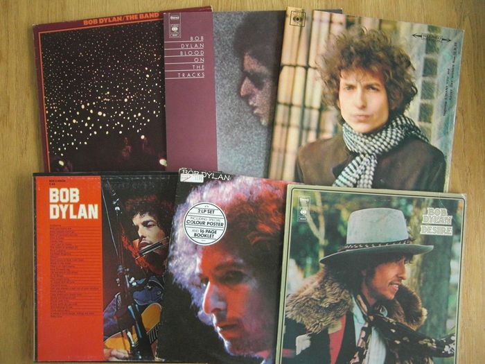 Bob Dylan - 6 LP Albums inclouding 3x Lp boxset and gatefold editions