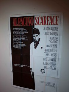 Scarface - Original US one sheet poster - 1983 - no reprint -  size 68,50 cm wide by 104 cm high - Al Pacino