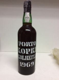 1969 Colheita Port Kopke – 1 bottle, 0.75L, 20% Vol