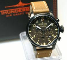 Thunderbirds Chronograph Aviator Design made by Eichmüller  - men's wristwatch 2016
