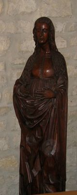 Mary Magdalene wooden craft from the 16th Century