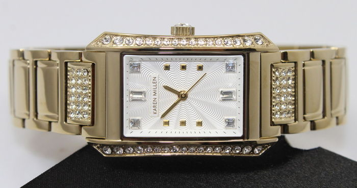 Karen Millen – stainless steel – ladies' designer watch – unworn