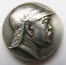 Germany - Silver Medal 1895 by Hildebrand  to the 80 Anniversary of Otto von Bismarck's Birth