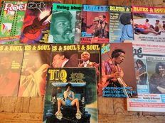 Lot With 13 Music Magazines/Newspapers 1968-1977